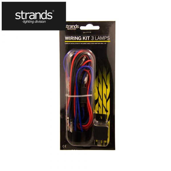 STRANDS CABEL KIT FOR 3 EXTRA LIGHTS